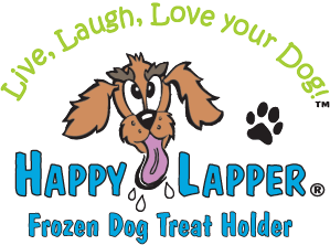 Happy Lapper frozen dog treat holder